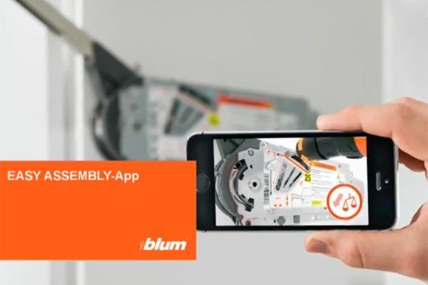 easy assembly la herramienta digital de blum para instaladores