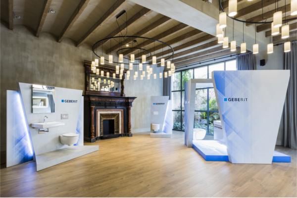 geberit muestra su nueva gama de porcelana sanitaria en madrid y barcelona