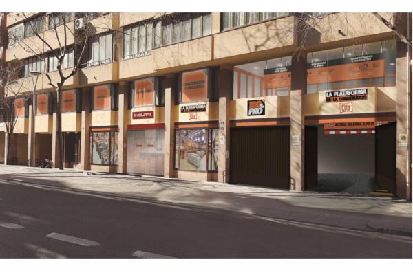 la plataforma de la construccin abrir un almacn urbano en barcelona