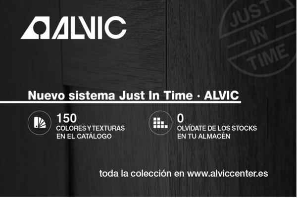 alvic presenta su nuevo sistema just in time
