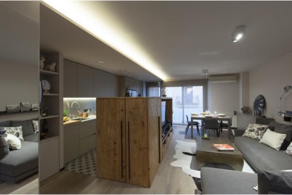 las cajas coblonal comparten estancias y optimizan los metros cuadrados