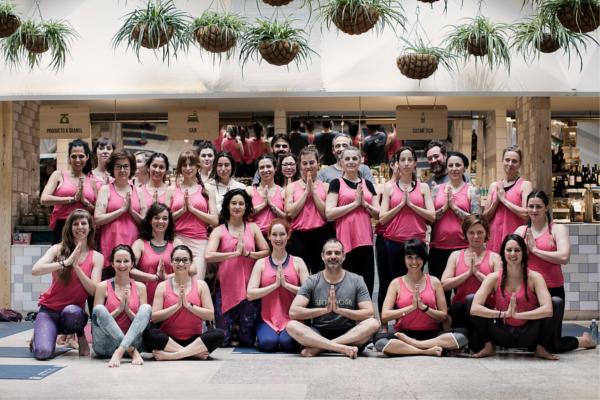 el grupo presto ibrica patrocina el evento secret yoga con sus marcas galindo y presto