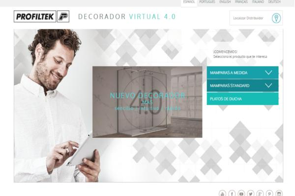 profiltek lanza la versin 40 de su decorador virtual