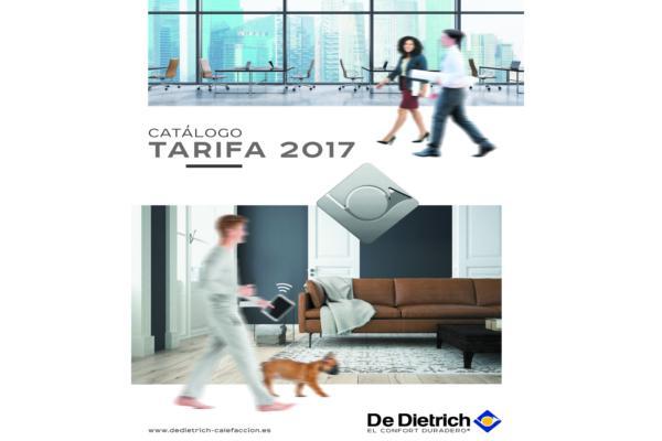 de dietrich presenta su catlogo tarifa 2017