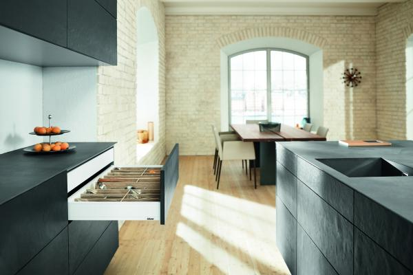 herrajes pieza clave en la smart kitchen