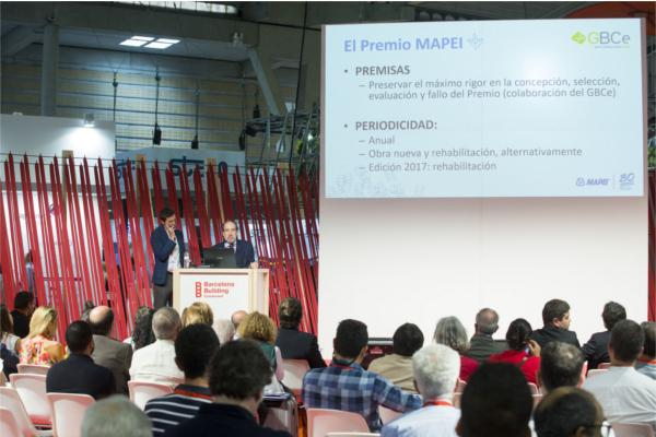 mapei pone en marcha la primera edicin de su premio a la edificacin sostenible