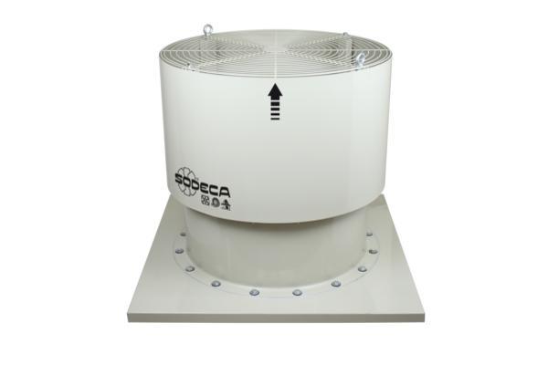 sodeca presenta sus extractores de humo para naves industriales