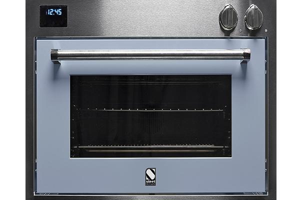 steel presenta el nico horno a vapor del mercado de 90 cm de ancho