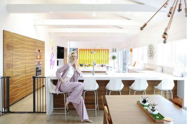 la supermodelo internacional coco rocha elige silestone para su casa en nueva york