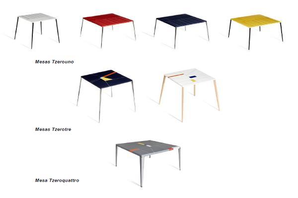 tzero table las mesas de espritu ecolgico realizadas en himacs