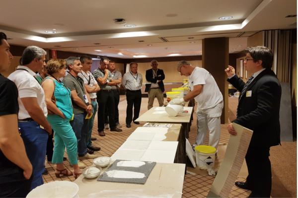 weber saintgobain celebra un encuentro de distribuidores de materiales de construccin en marbella