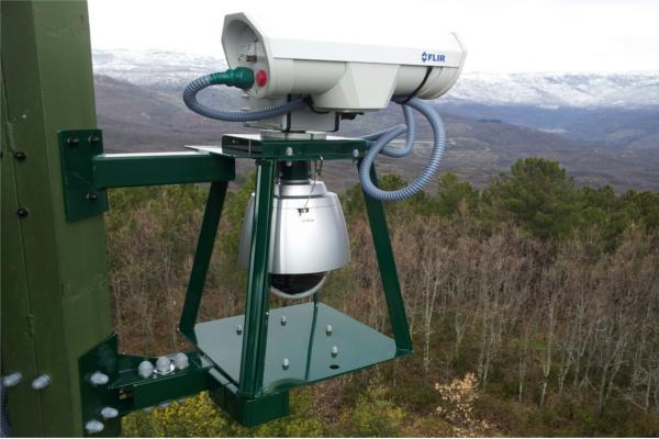 faedo el sistema de deteccin de incendios forestales de indra