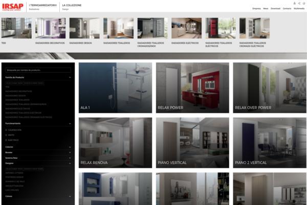 irsap lanza su nueva web corporativa