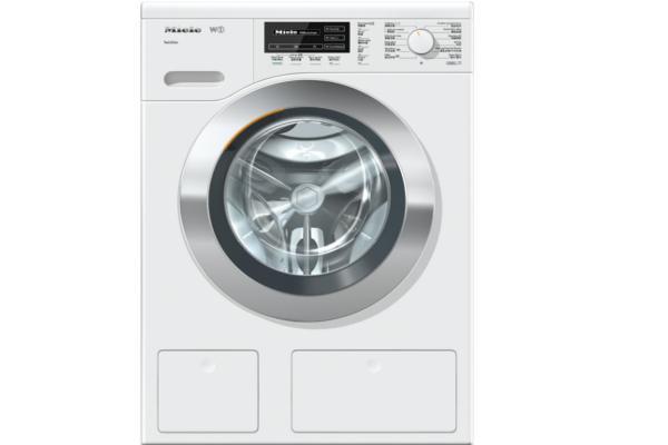 la lavadora wkg120 de miele incorpora el sistema twindos
