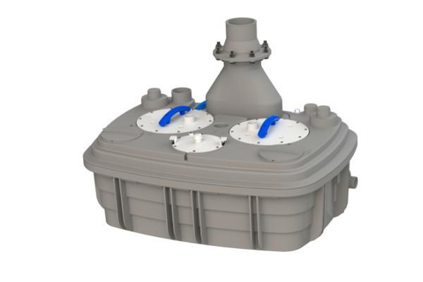 sfa sanitrit ampla con sanicubic 2 xl trifsica la gama de sus estaciones de bombeo