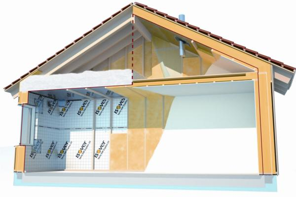 el sistema vario de isover protege la casa de la humedad