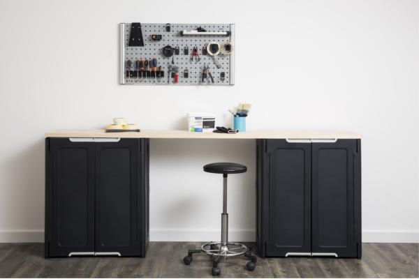 los armarios magix te permiten organizar el taller o el trastero