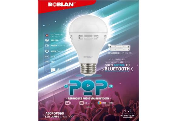 roblan presenta pop la lmpara led con altavoces