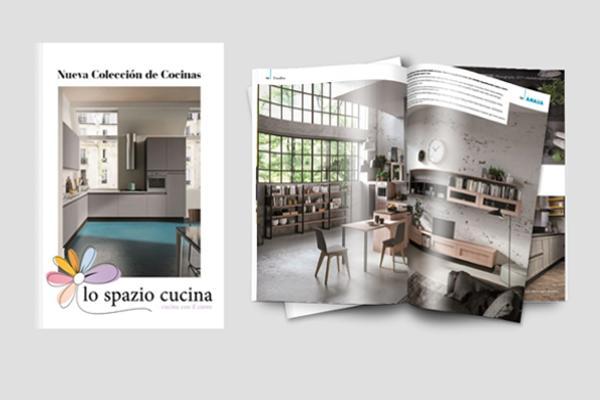 lo spazio cucina inicia actividad en espaa y presenta su catlogo 20172018