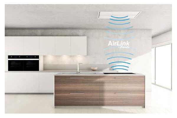 airlink by pando control inteligente entre la campana y la placa
