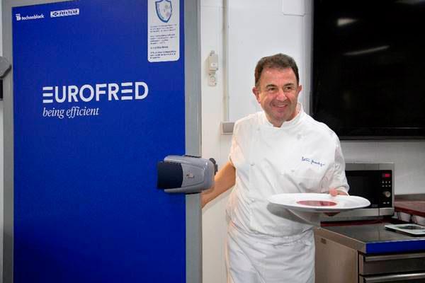 martn berasategui elige eurofred para su cocina