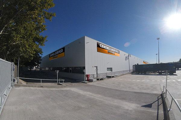 nuevo centro logstico en madrid