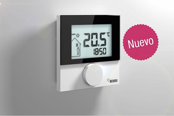 rehau lanza un nuevo sistema inteligente de regulacin de temperatura