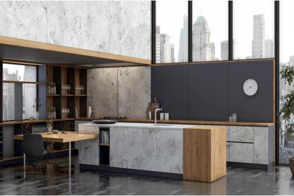 cocinas nicas con los nuevos acabados stucco y fusion de innovus