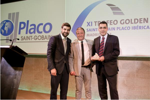 una empresa riojana representa a saintgobain placo en un trofeo internacional
