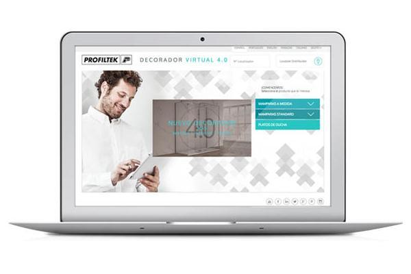 las visitas a la web de profiltek se incrementan cerca de un 50