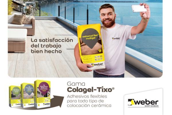 weber lanza una nueva generacin de adhesivos flexibles