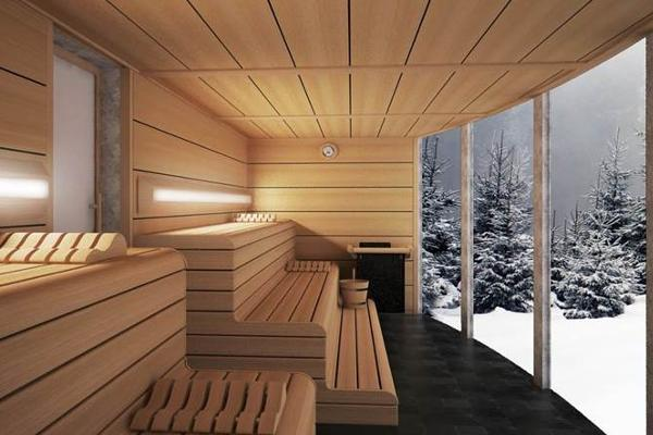 inbeca wellness equipment presenta su nueva sauna finlandesa