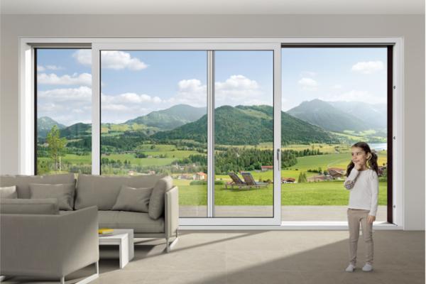 luminosidad y eficiencia energtica en las puertas correderas elevables de rehau
