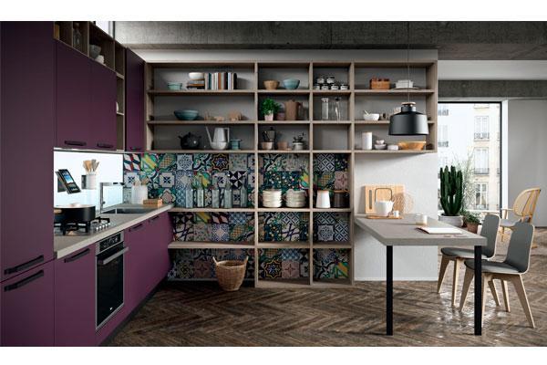 el color violeta autntico protagonista de la cocina faro
