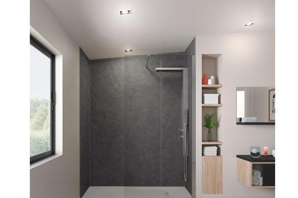 grandform lanza la nueva gama de paneles de ducha kinewall