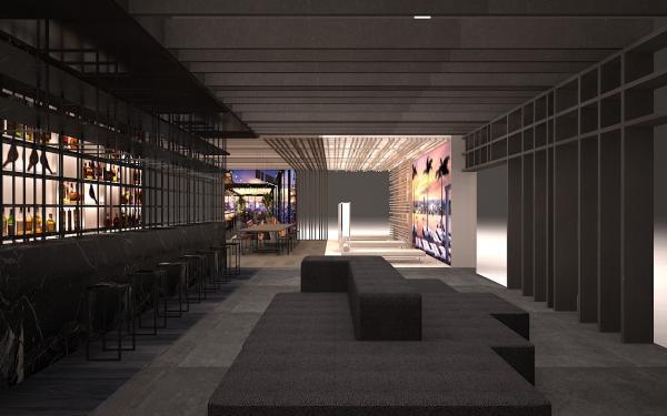 ramn esteve recrear un hotel urbanonbspfuturista en fimmamaderalia
