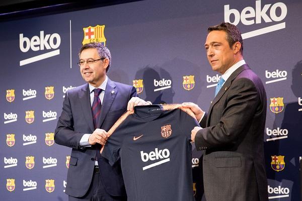beko se convierte enpatrocinador principal del fc barcelona