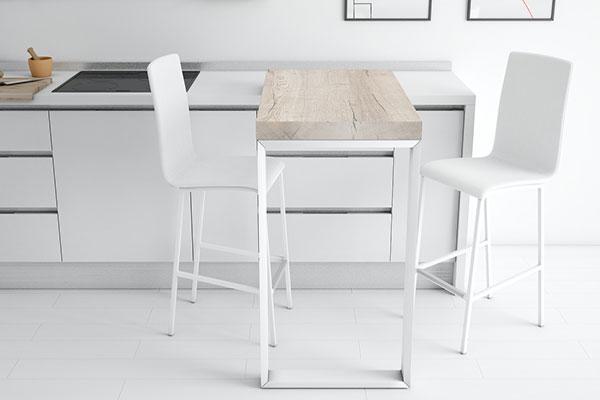 cancio ahorra espacio en la cocina con barra 90