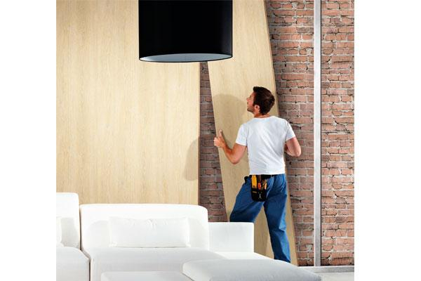 emedec muestra en maderalia las ltimas soluciones para el revestimiento de interiores