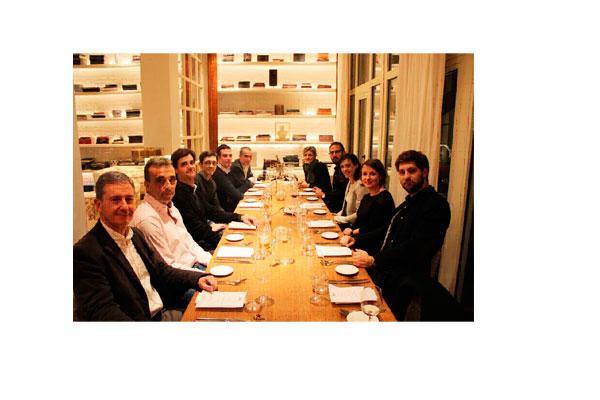 hfele patrocina la segunda architecture night dinner en barcelona de 2018