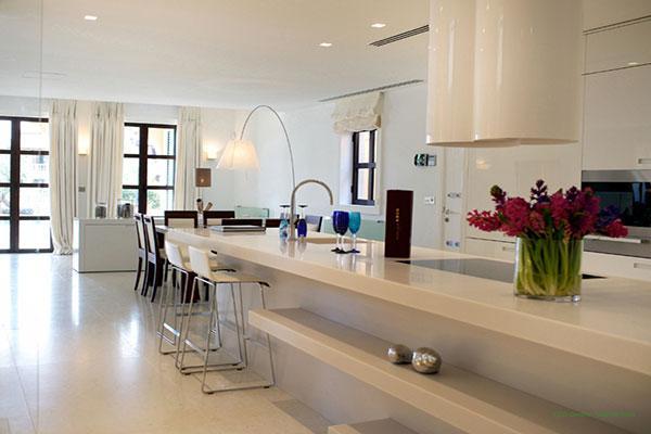 el mrmol de margraf crea ambientes nicos en la cocina