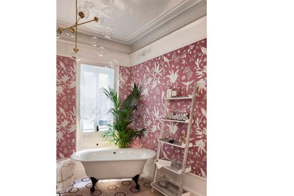 los suelos y paredes de mosaico marcan tendencia en casa decor 2018