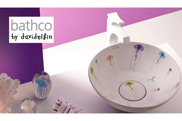bathco by david delfn lleva el prpura al cuarto de bao