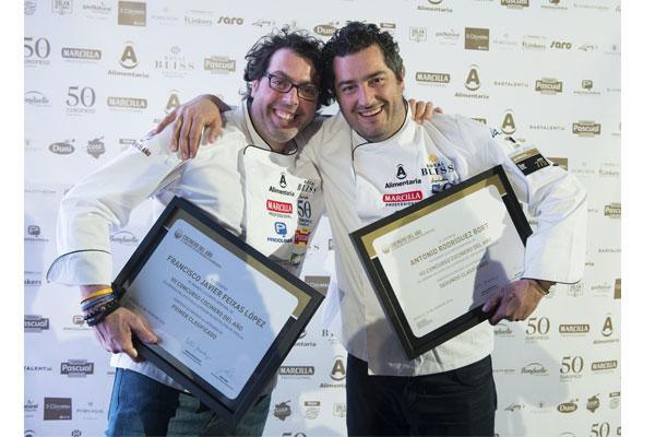 dos chefs andaluces ganan la 4 semifinal del vii concurso cocinero del ao
