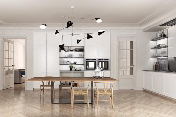 know how tecnolgico y artesanal para crear cocinas que son obras de arte