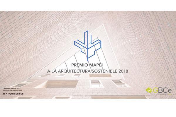 mapei presenta la ii edicin de su premio a la arquitectura sostenible
