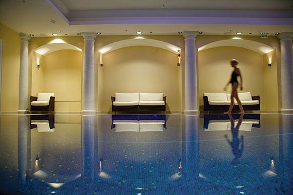 la mejor experiencia sensorial de un spa se consigue gracias a su arquitectura