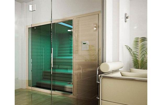 sauna finlandesa lnea barcelona vanguardismo y relajacin en el bao