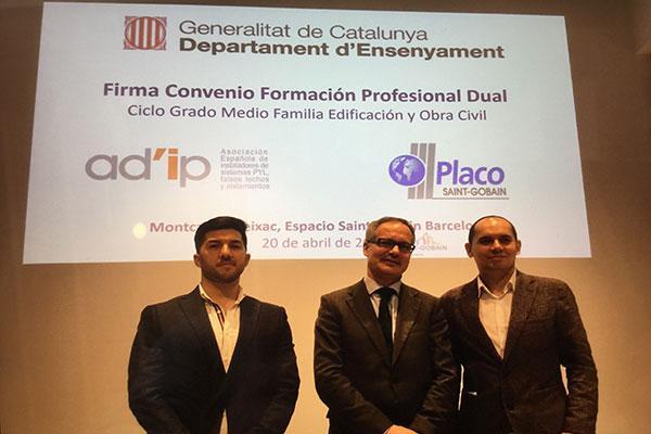 se firma el primer convenio de fp dual para mejorar la cualificacin profesional del sector de la construccin