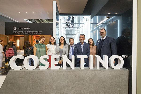Grupo Cosentino, protagonista en el Sal�n Internacional del Ba�o de Mil�n 2018